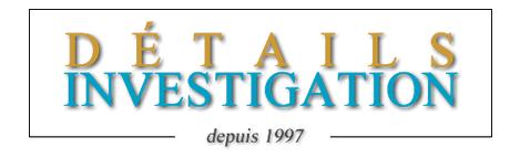 Logo Détails Investigation - Agence d'investigation - Enquêteurs - Laval - Montréal - Québec